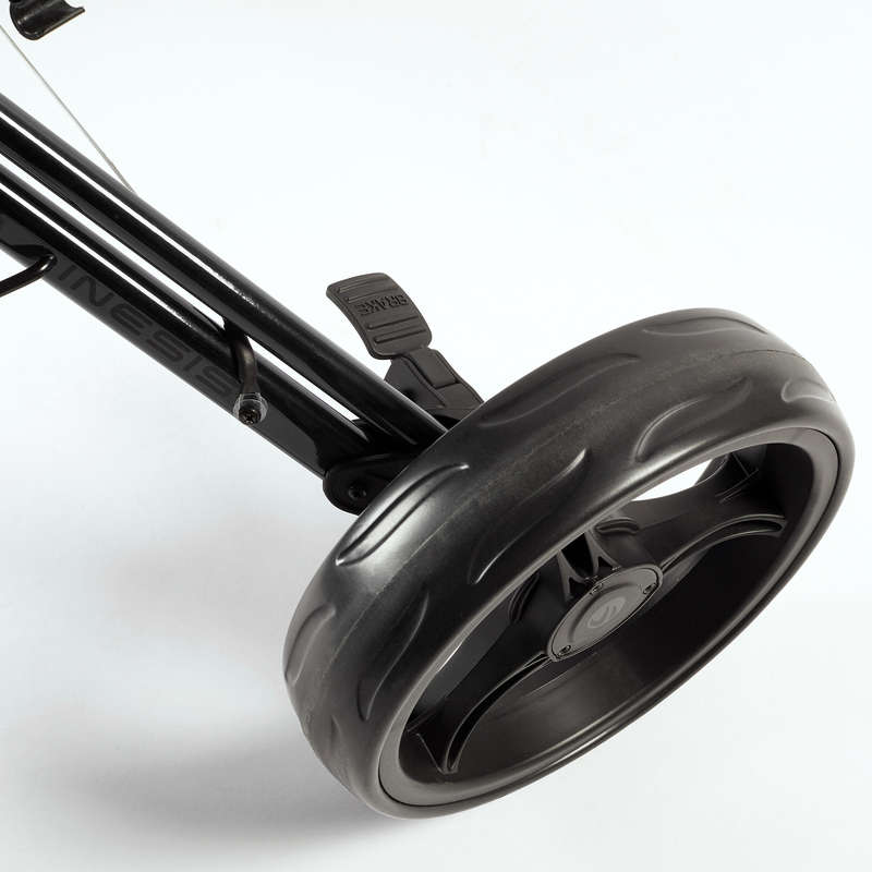 Kocsi golfhoz Golf - Golf trolley kerék, 26 cm INESIS - Golftáska, golf trolley