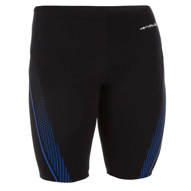 MEN'S SWIMSUITS Swimwear and Beachwear - MEN FIRST JAMMER BLACK GREY NABAIJI - Swimwear and Beachwear