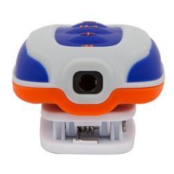 Waterdichte mp3-speler en oortjes voor zwemmen SwimMusic 100 V3 wit/oranje/grijs