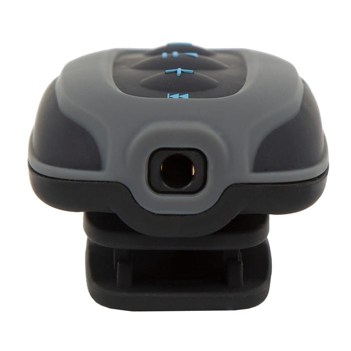 Lecteur MP3 étanche de natation et écouteurs SwimMusic 100 V3 Noir Bleu