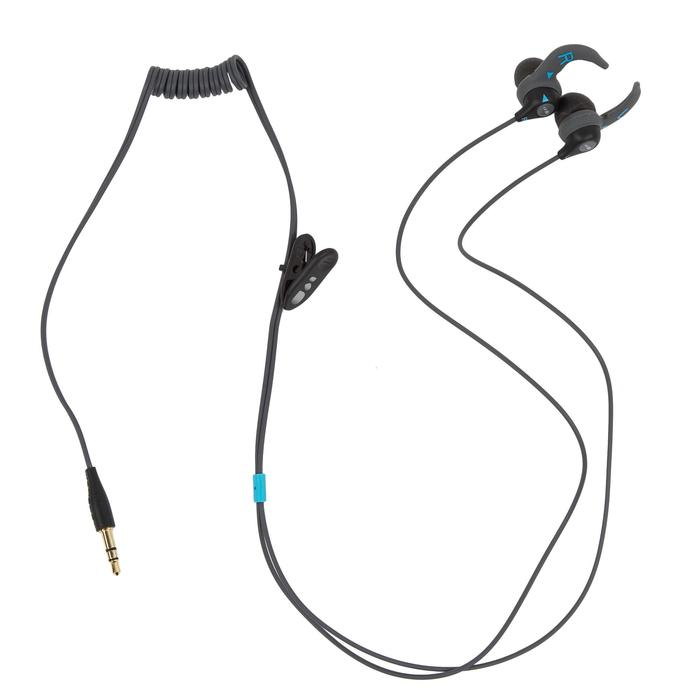 Lecteur MP3 étanche natation et écouteurs SwimMusic 100 V3 Noir Bleu
