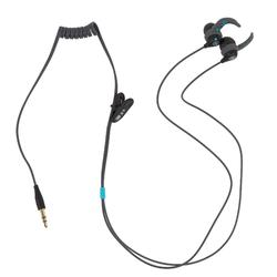 Waterdichte mp3-speler en oortjes voor zwemmen SwimMusic 100 V3 zwart/blauw