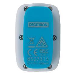 Lecteur MP3 étanche de natation et écouteurs SwimMusic 100 V3 Blanc Bleu