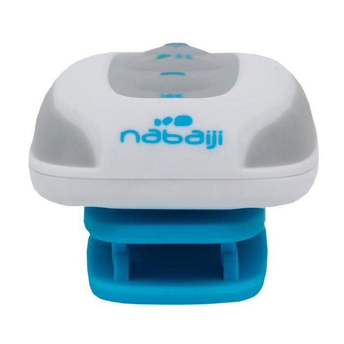 Lecteur MP3 étanche natation et écouteurs SwimMusic 100 V3 Blanc Bleu