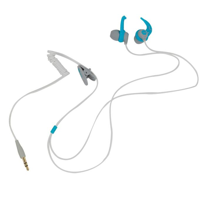 Waterdichte mp3-speler en oortjes voor zwemmen SwimMusic 100 V3 wit/blauw