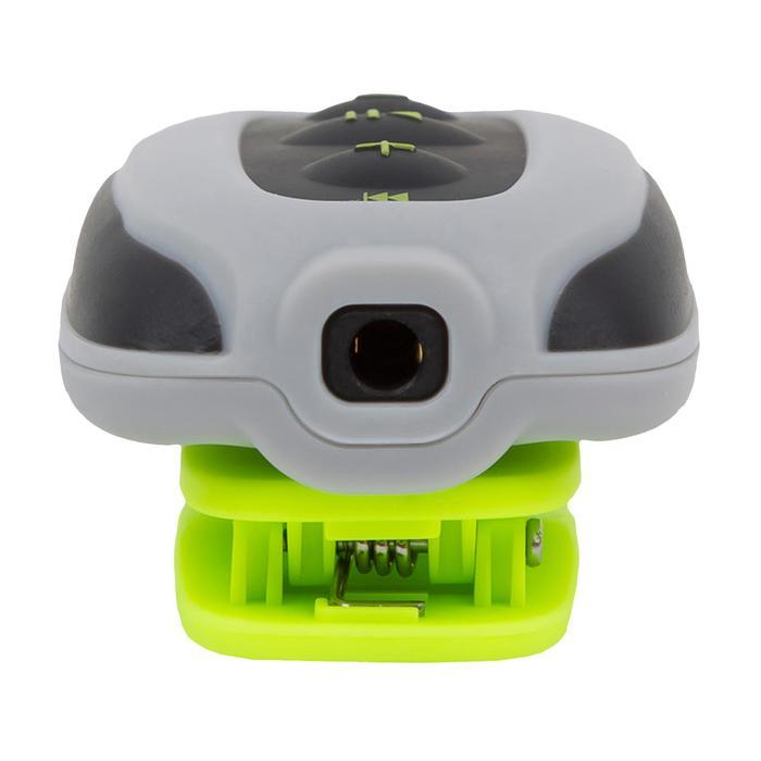Waterdichte mp3-speler en oortjes voor zwemmen SwimMusic 100 V3 grijs/geel