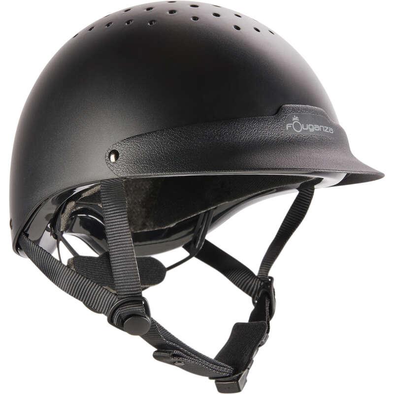 Protecţii călăreţ Echitatie - Tocă 100 Negru FOUGANZA - Echitatie