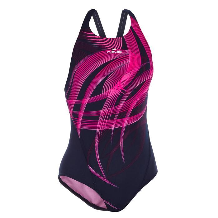 Kamiye Girl's Chlorine-Resistant One-Piece Swimsuit