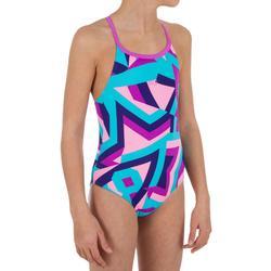 Bañador de natación para niña Riana Sta azul