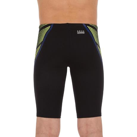 2a5ca07460a1 Boys' Jammer Swim Shorts 500 First Black Dots - Orange Blue. NEW. Previous.  Next
