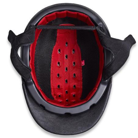 Casque d'équitation900 et sac