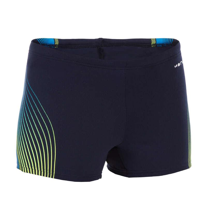 BOY'S SWIMSUITS Swimming - Boys' Boxer Fit - Blue Yellow NABAIJI - Swimwear