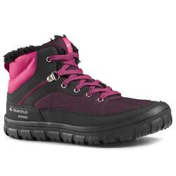 兒童款繫帶式健行保暖防水鞋SH100 WARM