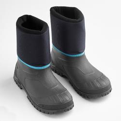 Snowboots kinderen SH100 Warm blauw