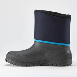 KIDS' WARM AND WATERPROOF SNOW BOOTS - SH100 WARM