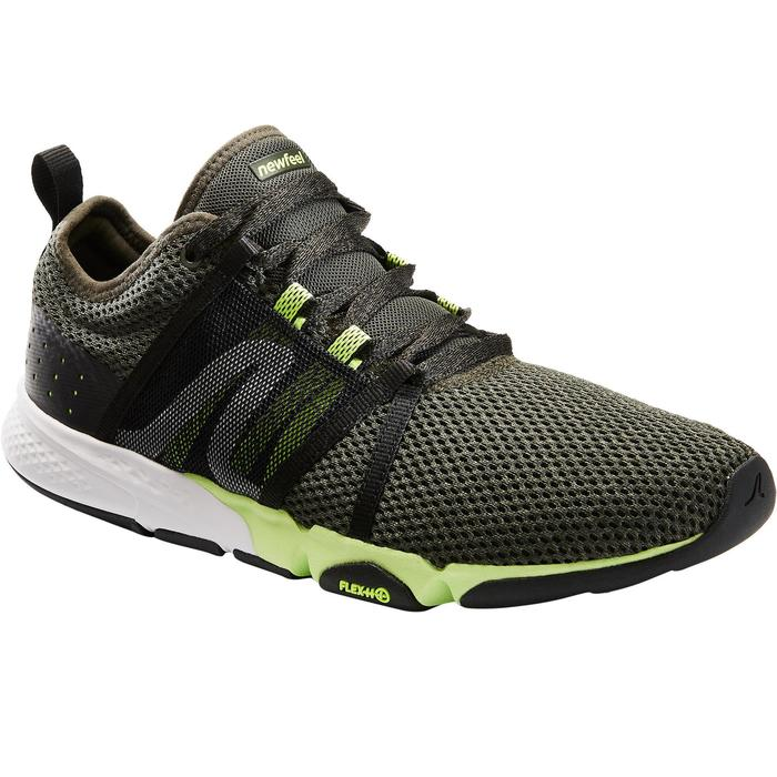 Chaussures marche sportive homme PW 540 Confort kaki / vert