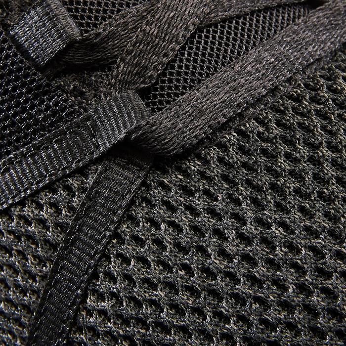 Herensneakers voor sportief wandelen PW 540 Comfort zwart