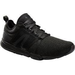 Zapatillas de marcha deportiva para hombre PW 540 Confort negro