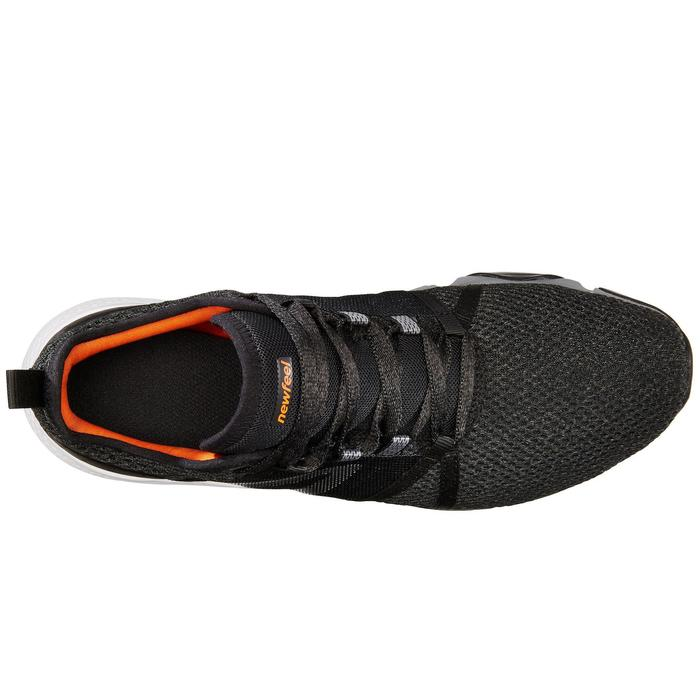 Freizeitschuhe Walking PW 540 Flex H+ Herren schwarz/orange