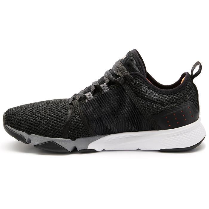 Chaussures marche sportive homme PW 540 Confort noir / orange