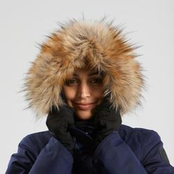 Women's Snow Hiking Jacket SH500 Ultra-Warm - Navy Blue