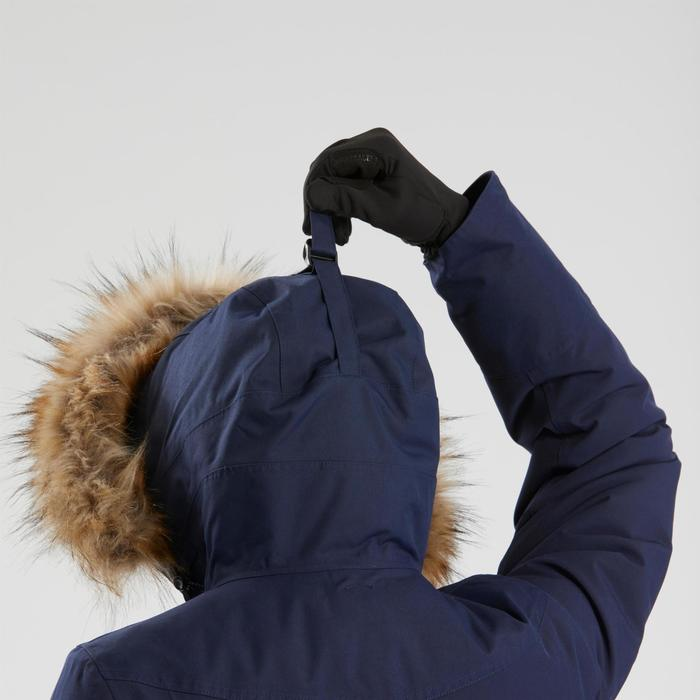 Women's Warm, Waterproof Hiking Parka SH500 U-Warm