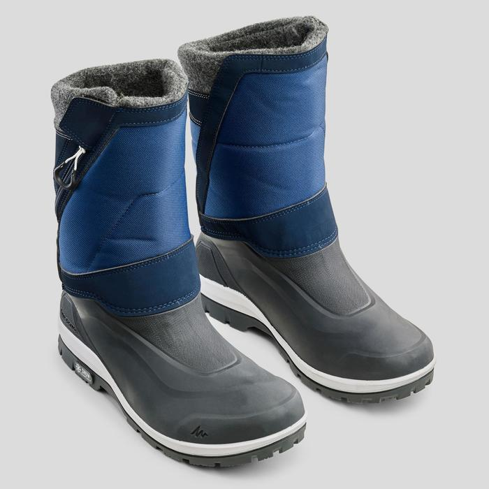 Snowboots SH500 X-warm blauw