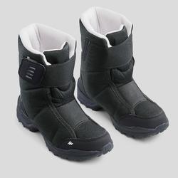 Bottes de randonnée neige junior SH100 x-warm Noir