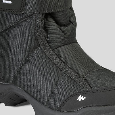 Kids' Snow Hiking Boots SH100 X-Warm - Black