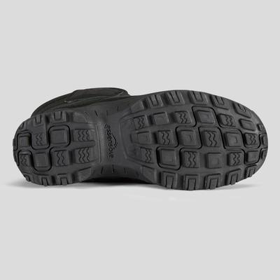 Дитячі чоботи SH100 X-Warm для зимового туризму - Чорні