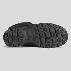 Wandellaarzen voor de sneeuw kinderen SH100 X-Warm zwart