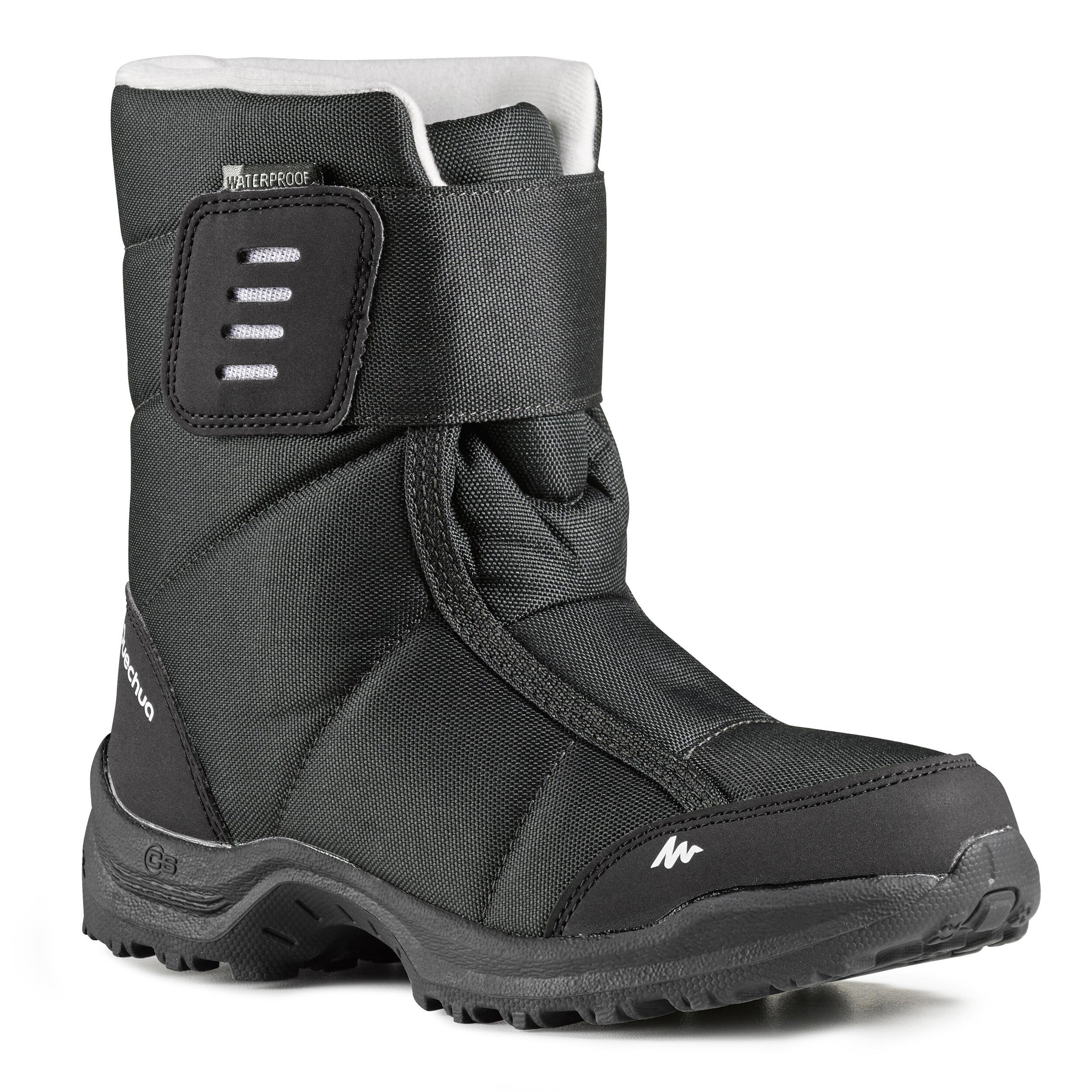 Quechua Kinder wandellaarzen voor de sneeuw SH100 X-warm
