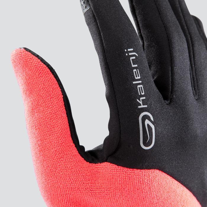 Handschoenen Evolutiv by Night roze Met ingewerkte wanten