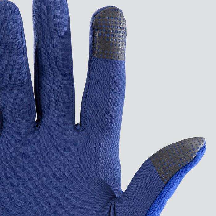 GUANTES EVOLUTIV BY NIGHT AZUL Manoplas integradas