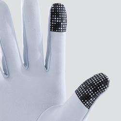 Tactiele handschoenen lichtgrijs