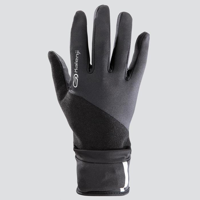 Handschoenen Evolutiv by Night zwart met ingewerkte wanten
