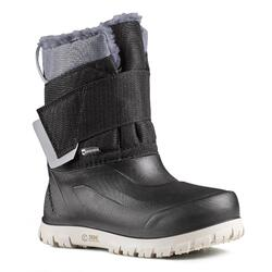 KIDS' WARM AND WATERPROOF SNOW BOOTS - SH500 X-WARM