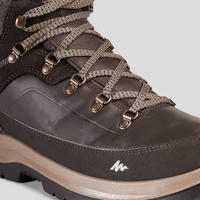 Men's X-Warm Mid Hiking Snow Shoes SH500 – Maroon.