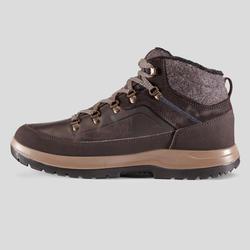 Botas de senderismo nieve hombre SH500 x-warm mid marrón.