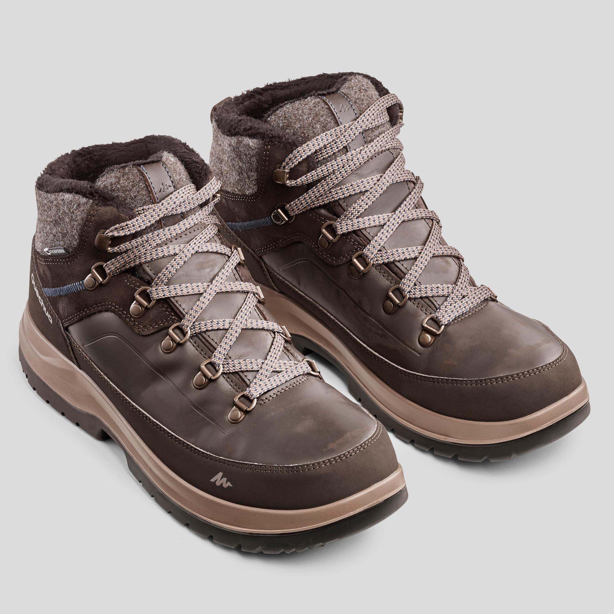 Men's snow hiking boots x-warm mid