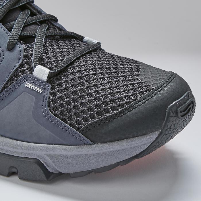 Zapatillas Running Kalenji Run Confort Grip Hombre Negro/Gris/Blanco