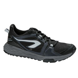 Run Comfort Grip Men's Jogging Shoes - Black
