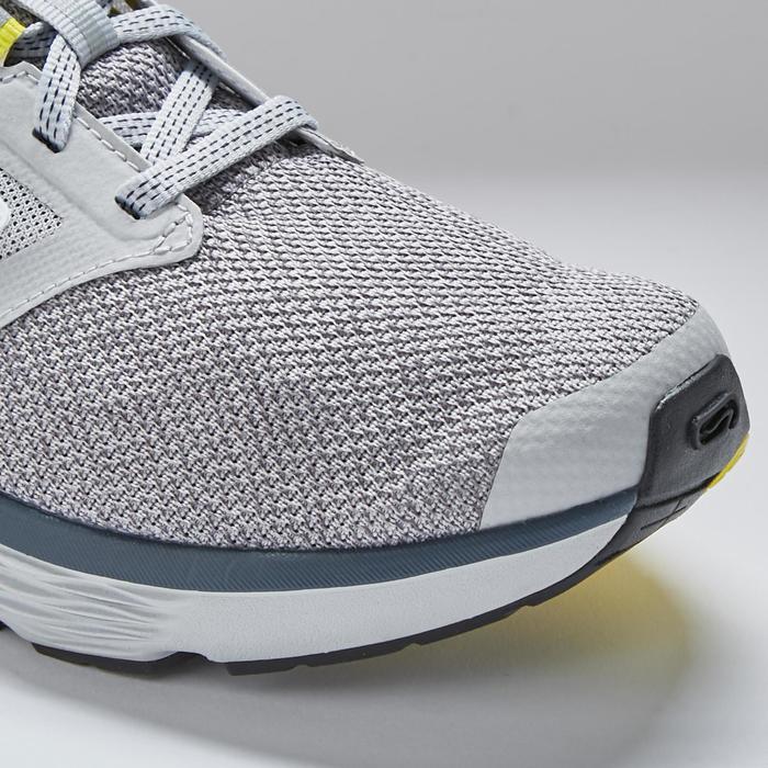 女款慢跑鞋RUN COMFORT灰色黃色