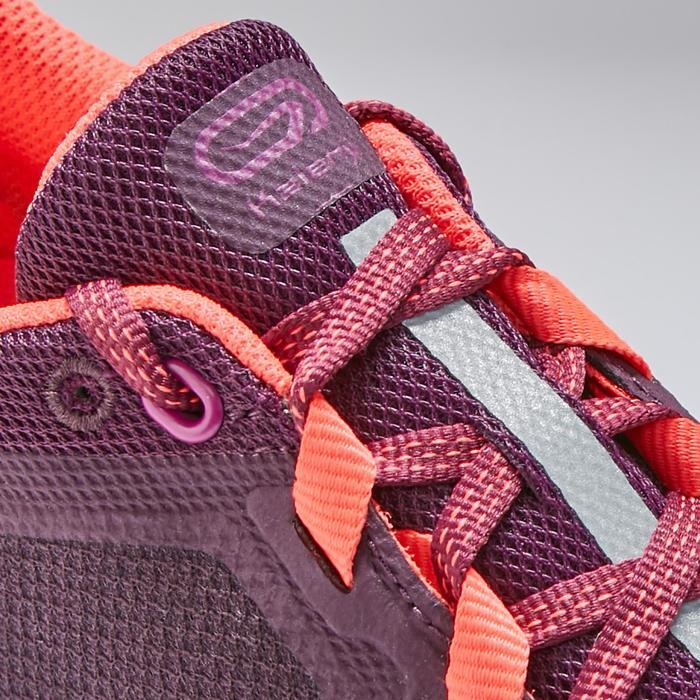 跑鞋RUN SUPPORT CONTROL F深紫紅色