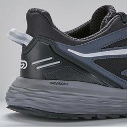 Run Comfort Grip Jogging Shoes - Black- Men's