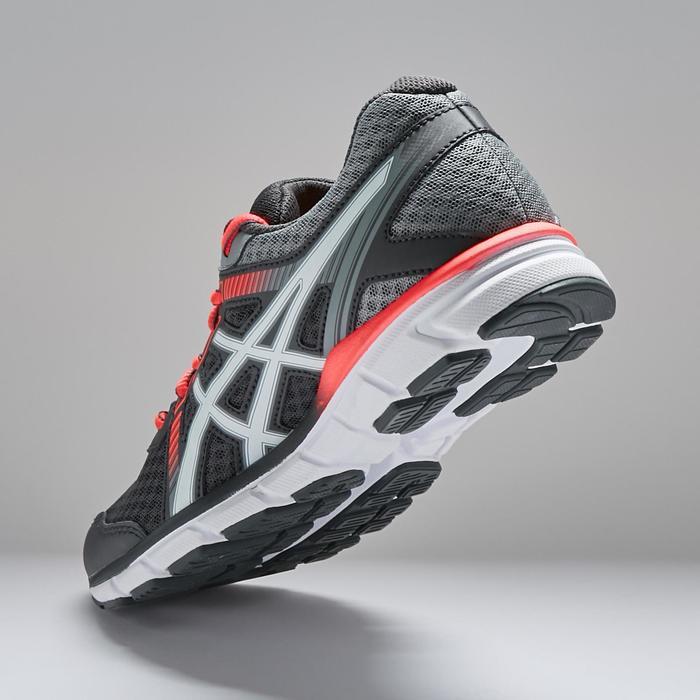 Chaussures de jogging GEL WINDHAWK grise et rose Femme