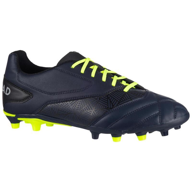 Scarpe rugby DENSITY R100 FG blu-giallo