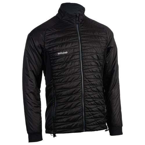 DOUDOUNE CLUB RUGBY ZIP 500 ADULTE Noir