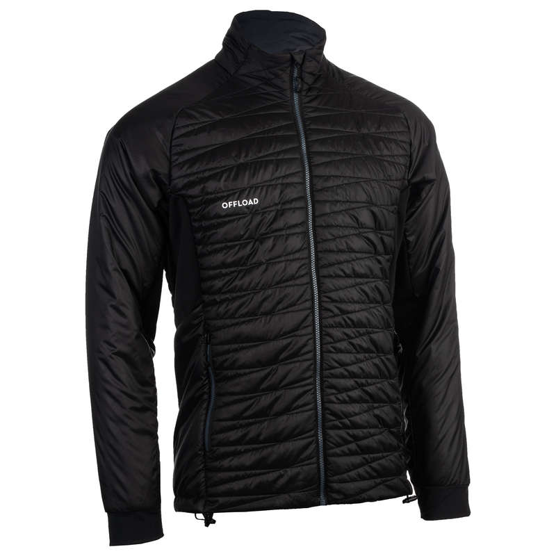 CLUB APPAREL OFFLOAD Rugby - Light Club Jacket R500 - Black OFFLOAD - Rugby Clothing
