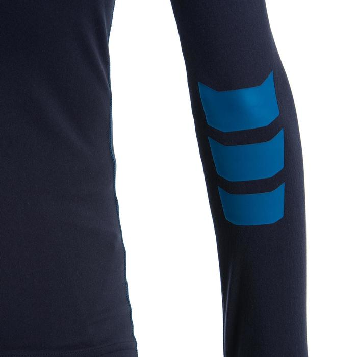 Langarm-Funktionsshirt R500 Kinder blau